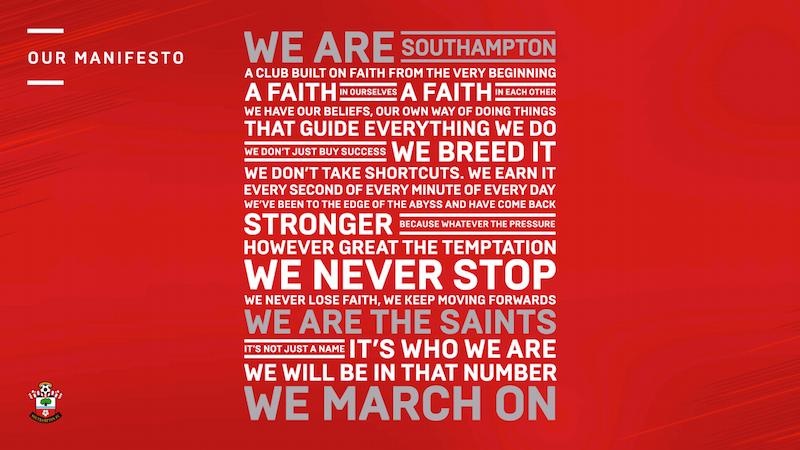 Digital transformation in the Premier League: Southampton