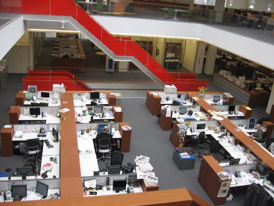 nyt newsroom