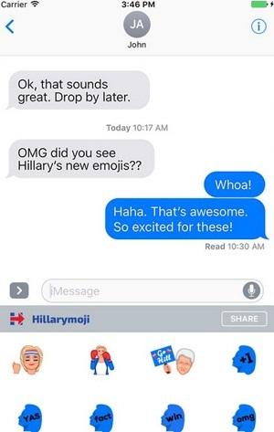 cómo usar emojis en política