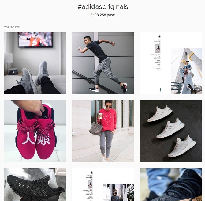 Likewise, the Adidas Originals Instagram feed (also with more followers  than the main account) typically makes use of imagery from musicians, ...