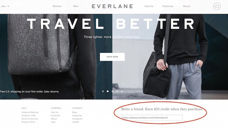 everlane referral
