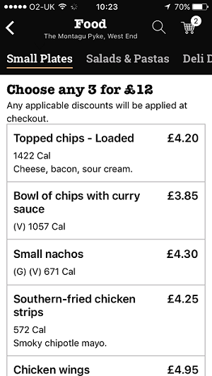 how to order at wetherspoons