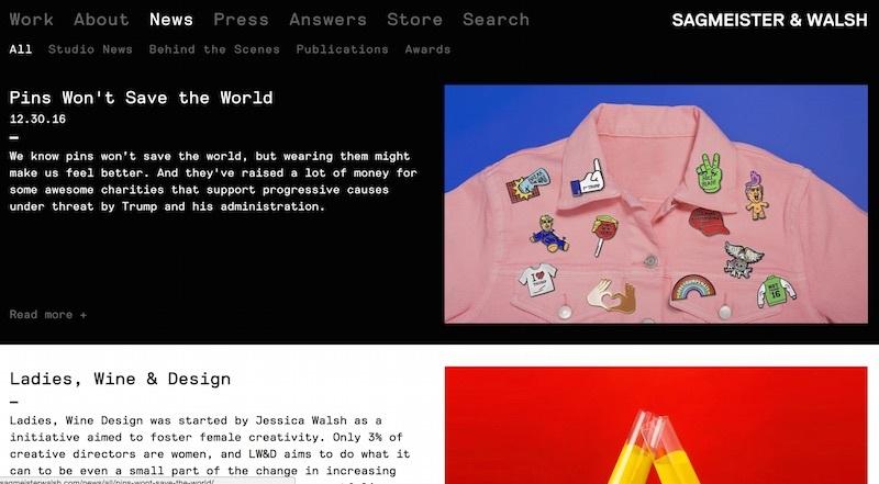 sagmeister and walsh blog