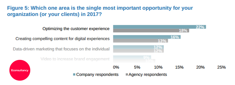 what is considered customer service experience