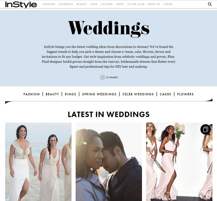 Why Online Publishers Are Launching Wedding Verticals Econsultancy