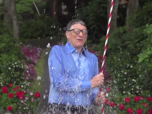 bill gates icebucketchallenge