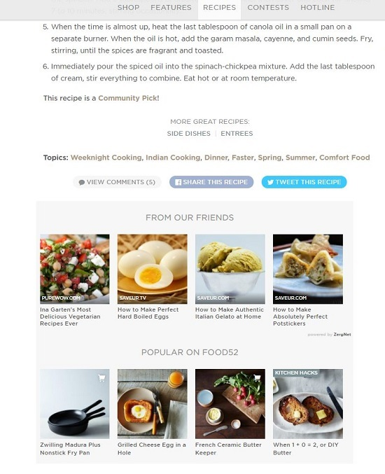How Food52 successfully combines content and commerce