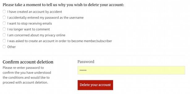 guardian delete account