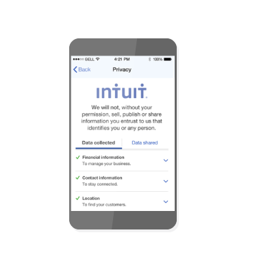 intuit and privacy alliance notice