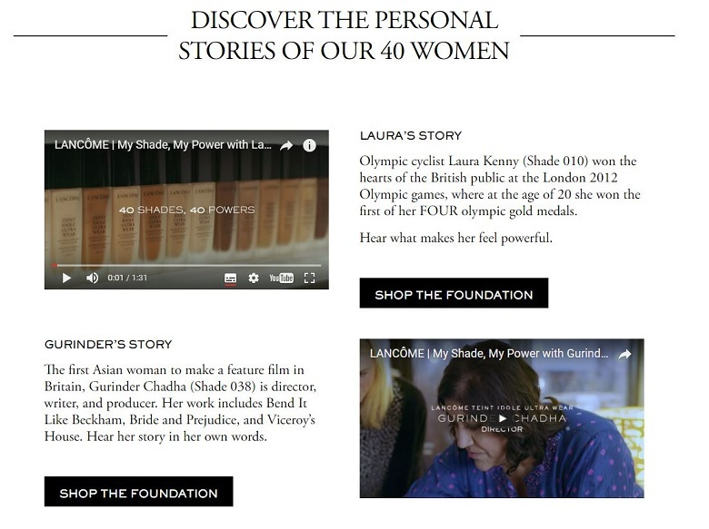 Brilliant examples of content marketing from beauty brands