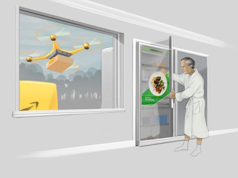 amazon fridge