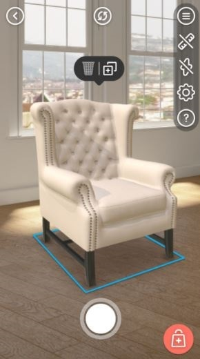 ... Loweu0027s High End Online Furniture Store. It Allows Users To Place  To Scale 3D Versions Of Furniture In Their Rooms, And Again, Re Position Or  Modify To ...