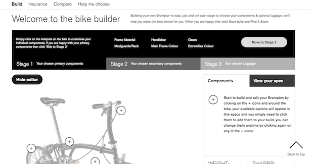 How Brompton Bicycles is overcoming purchase friction using