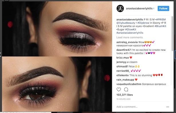 instagram eyebrow