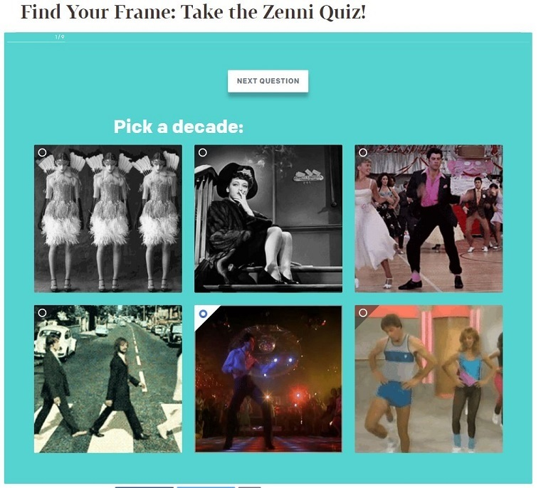 Eight effective examples of quizzes in content marketing – Econsultancy