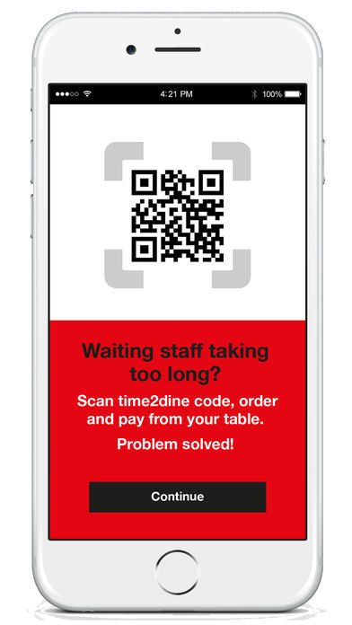 time2dine app