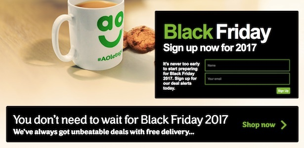 ao black friday page