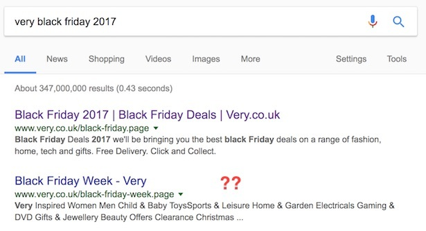 black friday very search
