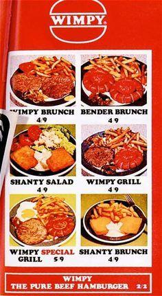 wimpy menu