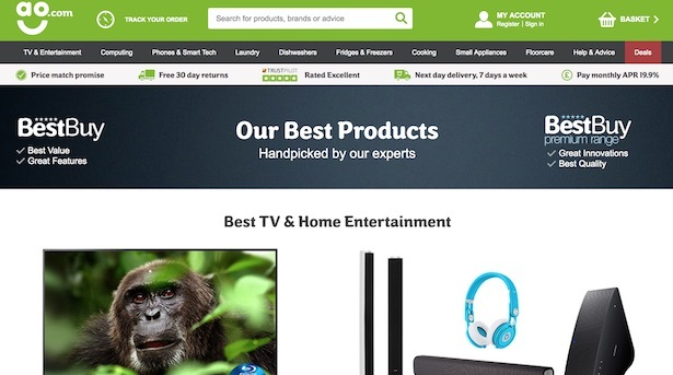 best product landing page