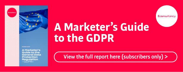 gdpr report banner