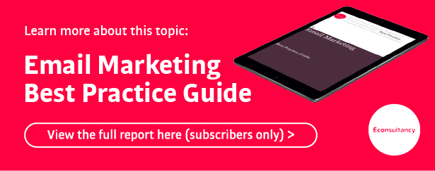 email marketing best practice guide (subscriber only)