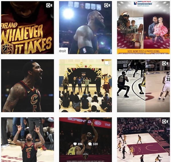 cavs instagram