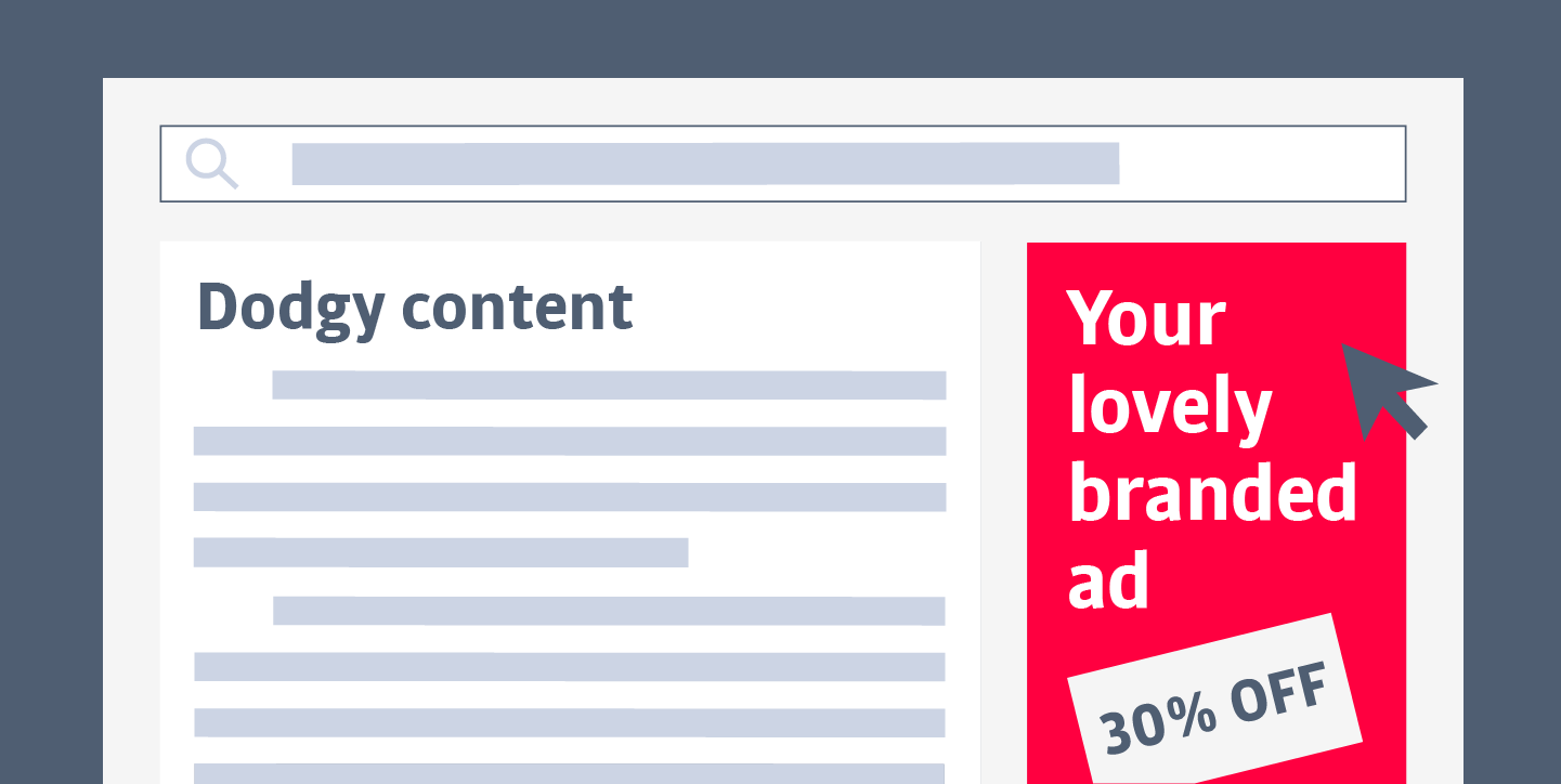 brand safety (bad ad placement)