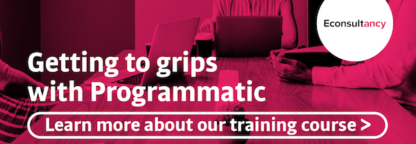 learn about econsultancy's programmatic training