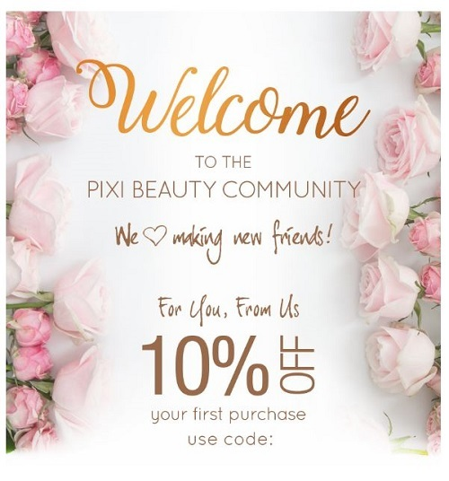 pixi welcome email