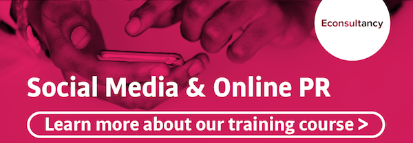 social media and online pr training