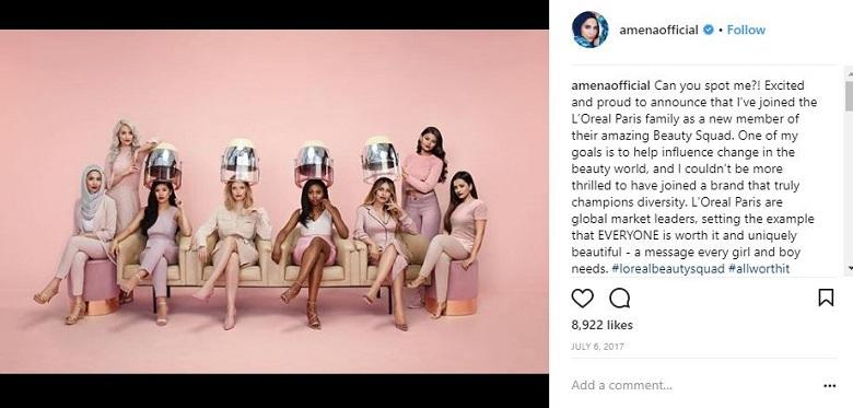l'oreal beauty squad