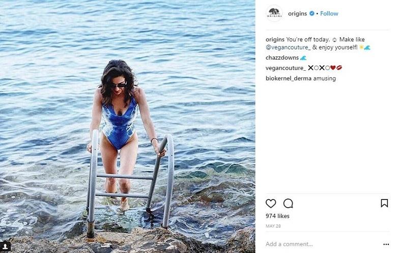 origins vegan instagram
