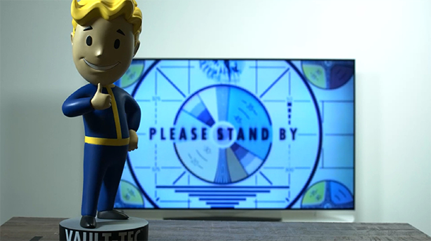 Fallout bobblehead livestream
