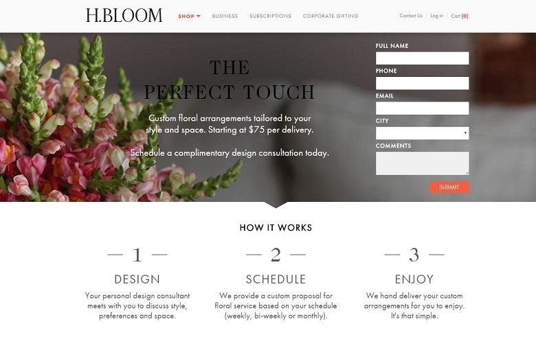 H.Bloom form position