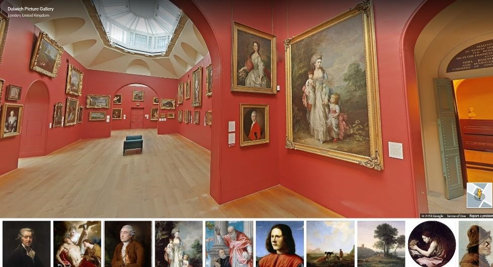 Dulwich Picture Gallery Virtual Reality Tour