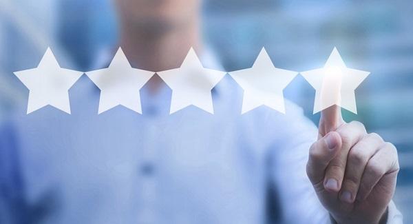 customer ratings and reviews