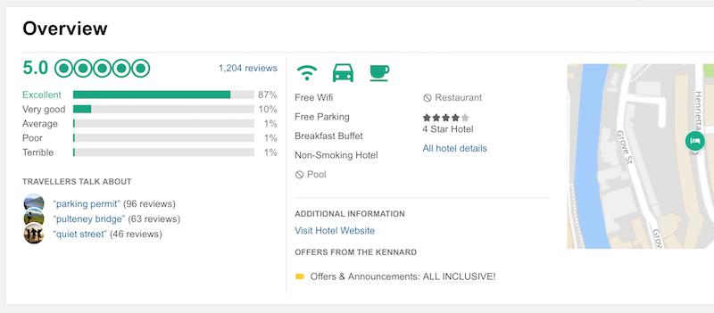 tripadvisor reviews overview
