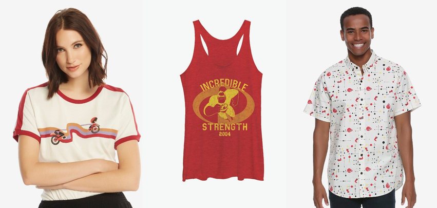Incredibles BoxLunch clothing collection