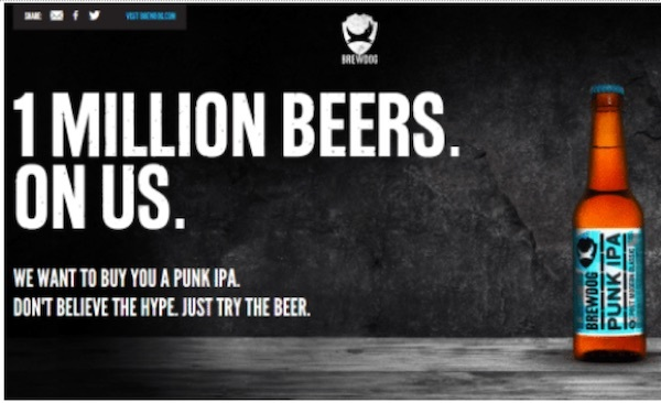 brew dog gdpr incentive