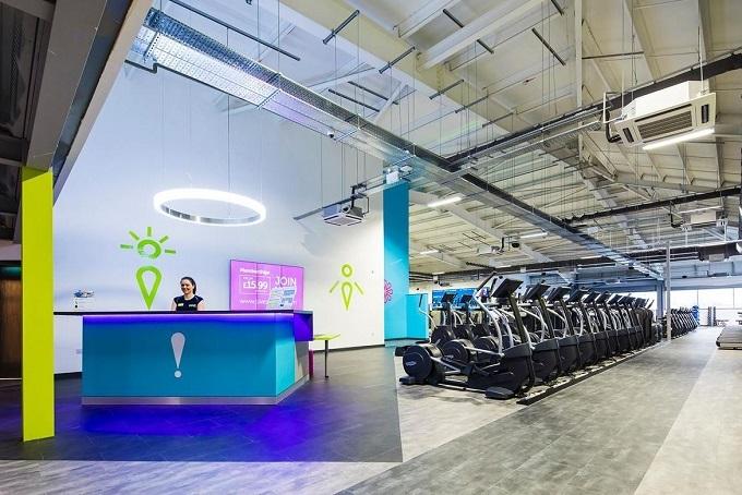 sweat gym