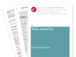 Cover for Web Analytics Buyer's Guide 2008