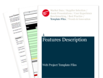 Cover for Features Description - Web Project Template Files