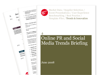 Cover for Online PR and Social Media Trends Briefing June 2009