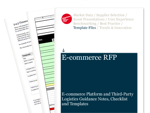 Cover for E-commerce Request for Proposal (RFP)