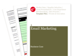 Cover for Email Marketing Business Case