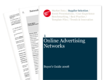 Cover for Online Advertising Networks Buyer's Guide 2008