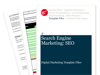 Cover for Search Engine Marketing: SEO – Digital Marketing Template Files