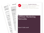 Cover for Affiliate Marketing Networks Buyer's Guide 2008