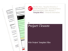Cover for Project Closure - Web Project Template Files